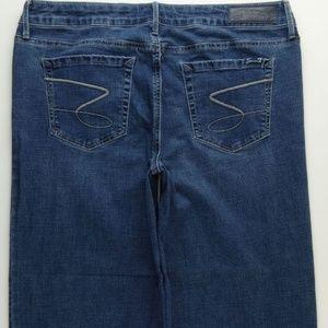Seven7 Gaucho Capri Crop Jeans Women's 14 B262